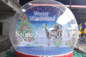 Снежный надувной шар ROLLCLOUD модель Zorb Ball