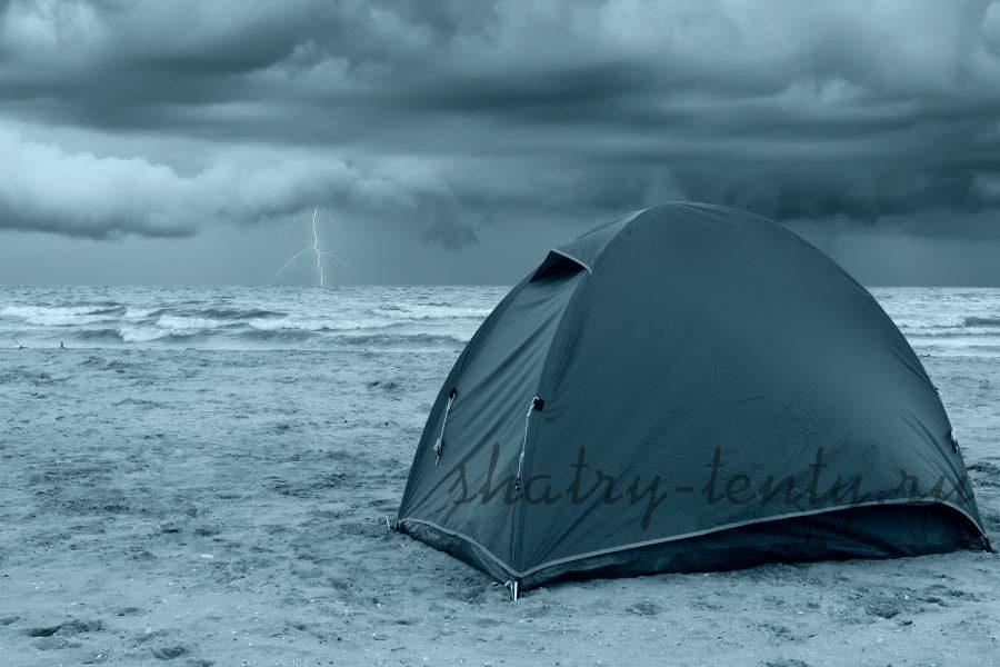 Непромокаемый тентовый шатер со стенками
