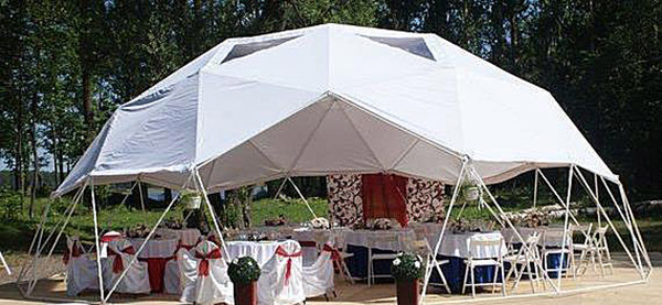 Открытый гео купол