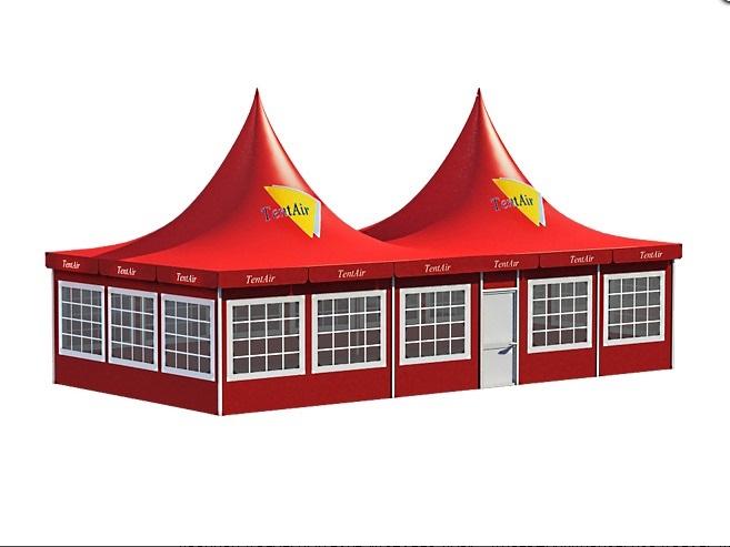 Палаточный павильон «КАПЕЛЛА ДУО» из двух модулей