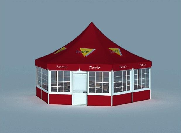 Павильон-шатер Аириус, компании TENTAR , Россия