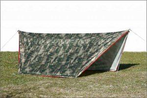 Пол влагозащитный ЛОТОС 5У собранный как палатка