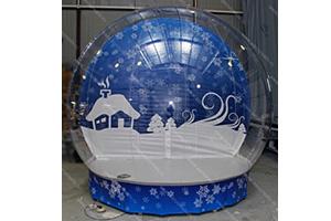 Полусфера ЭДВЕНЧЕ модель Snow Globe для демонстрационных целей