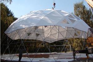 каркас сферического купола SPHERE RT380D22 накрываемый тентом
