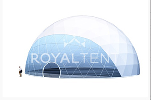 Сферический купол SPHERE, Производитель – RoyalTent, Россия, схема