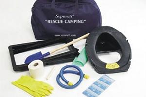 Складной комплект биотуалета Separett Camping 1125 Производитель Separett, Швеция