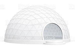 Конструкции геодезических шатров