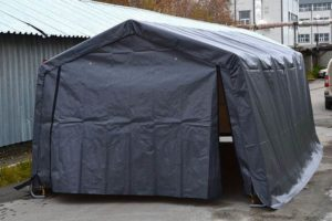 Тентовый гараж 3х6,1х2,4 м, компании Shelter Logic