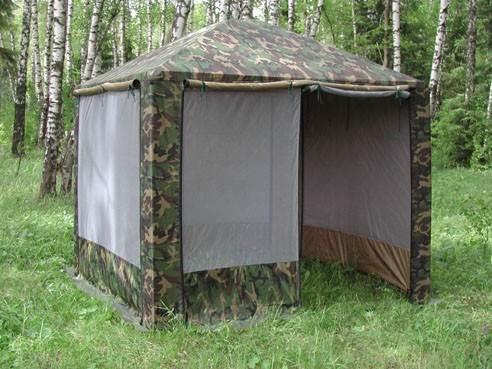 """Шатер Митек """"Пикник"""" на лесной поляне"""
