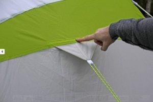 Швы большого зимнего шатра LOTOS 5