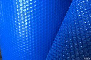 синяя солярная пленка компании DEL, Франция