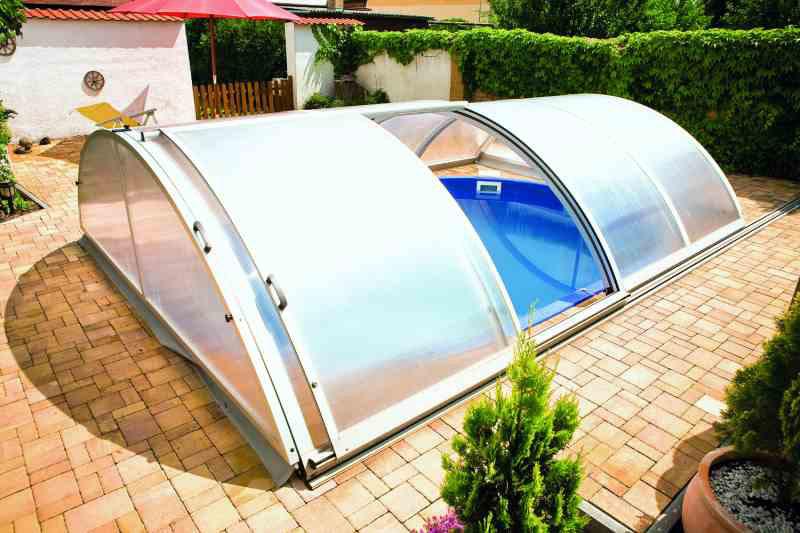 Стационарный павильон для бассейна «Trend box» , компания Mountfield, Чехия
