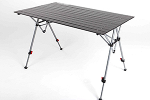 Дюралюминевый стол Folding Table AT024S-2 Adjustable в разложенном виде