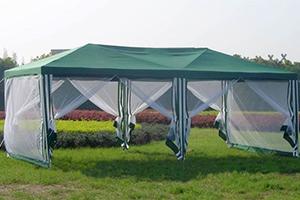 Тент-Шатер Green Glade развернутый на поляне