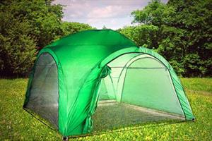 Зеленый Green Glade 1264 на лесной поляне
