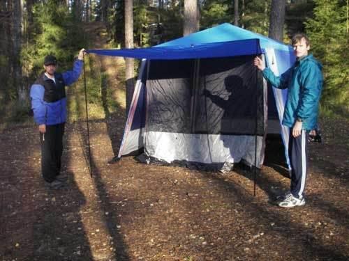 Тент - шатер RockLand SHELTER-380 - обзор
