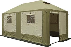 Тент-шатер туристический МИТЕК Пикник-люкс 3 Х 6 производитель компания Митек, Россия