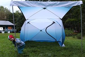 Водонепроницаемая палатка PINGUIN Призма Шелтерс для рыбалки