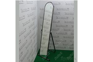 Зеркало напольное примерочное, Производитель – «Торговое оборудование», Россия-Китай, фото