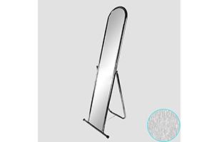 Зеркало напольное примерочное, Производитель – «Торговое оборудование», Россия-Китай, макет