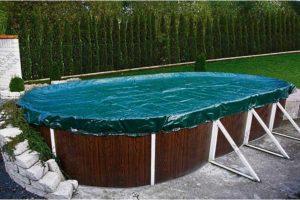Зимние тенты для бассейна SYNTHETICS, компания Atlantic Pool, Канада