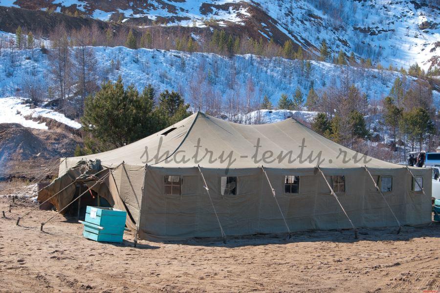 Зимний шатер для мероприятий