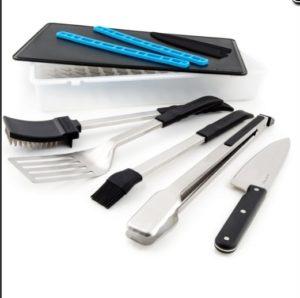 7 предметов в наборе инструментов для гриля «Porta-Chef»