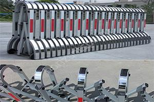 Алюминиевое раздвижное заграждение Паркинг-Solar для создания временного забора Производитель: ЭкоДорСнаб Россия