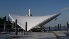Большой каскадный шатер тент изапромплюс в Сочи