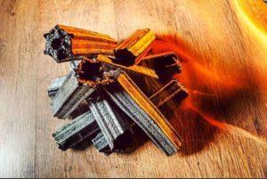 Брикетированный березовы уголь «Kamado»