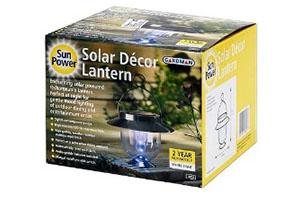 Cветильник на солнечной батарее Лампа ретро производитель – Gardmen, Великобритания