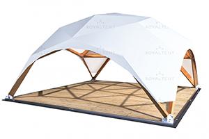 Деревянный сборный шатер WOOD RT 100/10 ROYAL TENT, производство Россия