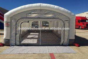 Надувной мобильный шатер Guangzhou BARRY Industrial БИ-ИТ 127, вид спереди