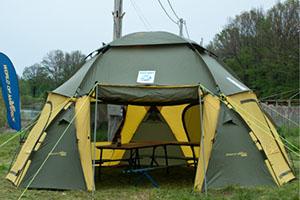Хаки бежевый шатер World of Maverick COSMOS 600 производитель World of Maverick Россия