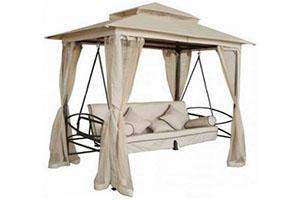 KingGarden садовый шатер с качелями на раскладном каркасе производитель: KingGarden, Китай