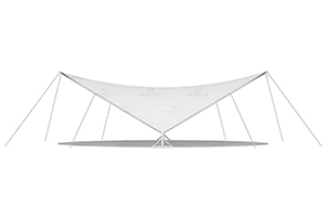 Классический каскадный шатер IMPERIAL TENT Cascade L6X8 производитель IMPERIAL TENT, Россия