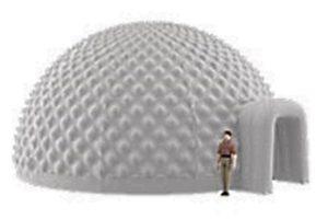 Купольный шатер-сфера AERODINAMIKA, Россия