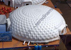 Купольная надувная сфера AERODINAMIKA с климатконтролем