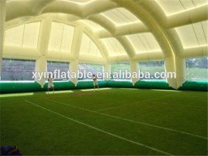 Надувной купол для футбольного поля Guangzhou Xingyuan Inflatable - вид изнутри