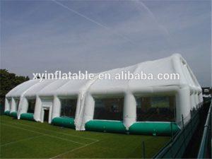 Надувной купол для футбольного поля Guangzhou Xingyuan Inflatable Co, Китай - вид снаружи