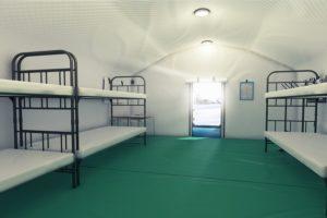 Надувная палатка шатер ПНЕВМОСИБИРЬ - вид изнутри