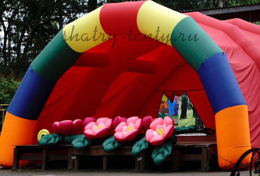 Пневмокаркасный шатер для мероприятий