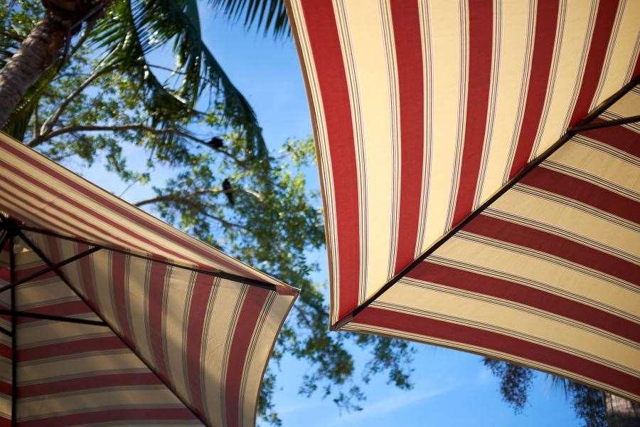Простые разборные зонты