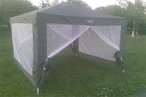 Разборной-люкс шатер (тент) COLEMAN 2902 3 Х 3 М, производство Польша