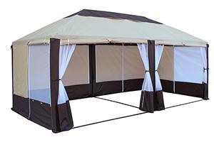 Разборный шатер для дачи Пикник Элит МИТЕК 6 Х 3 М, производство Россия