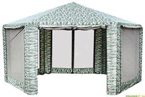 Садовый тент Митек Шестигранник с поднятыми стенками, производитель: Митек Россия