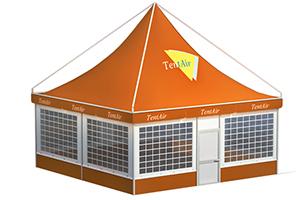 Сборно-разборный мобильный шатер «Альфа» TENT AIR 5 X 5 М, производство Россия