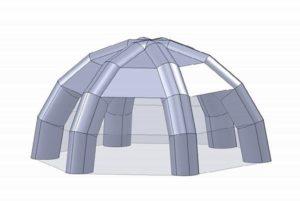 Сферическая палатка-шатер KUBAERO, Россия