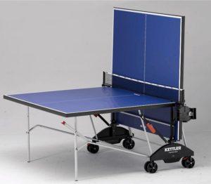 Теннисный стол Kettler Match 5.0 в сложенном виде