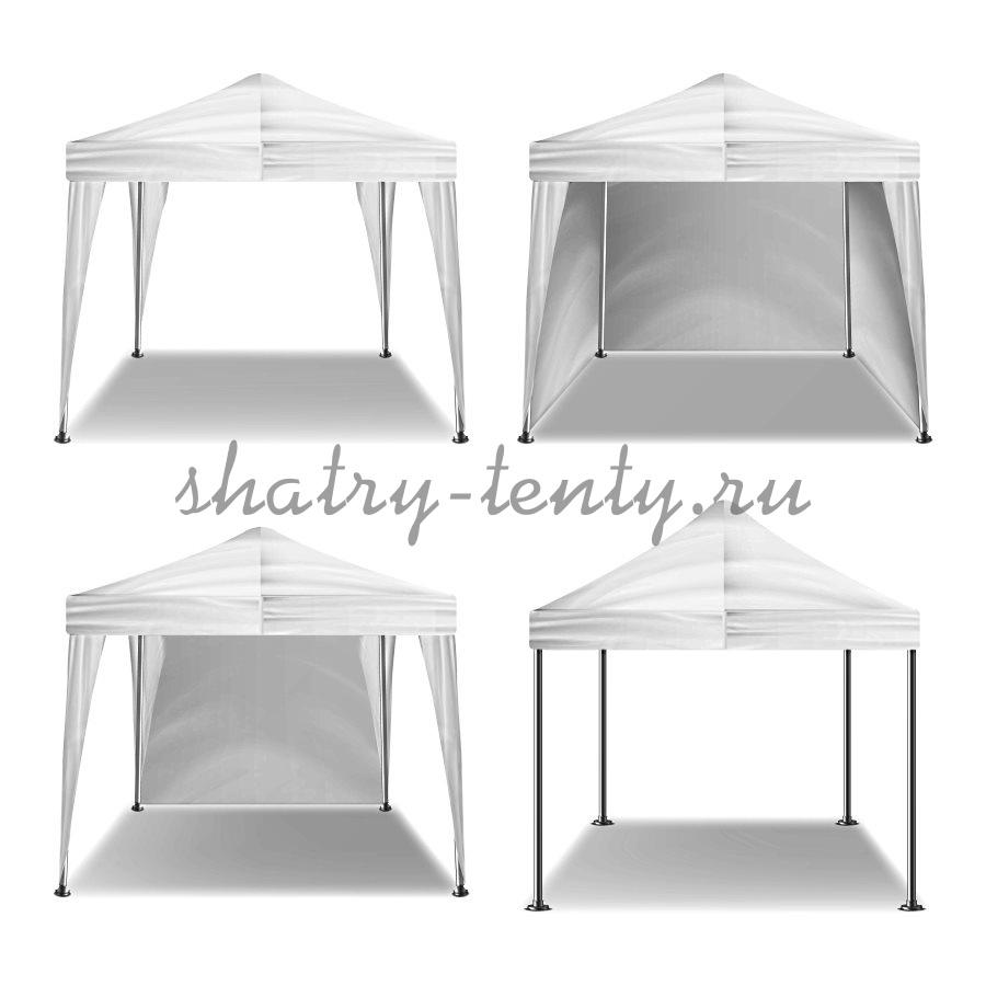 Открытые и полузакрытые типы складных и раскладных шатров